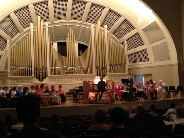 A Festival of Hymns at Pease Auditorium